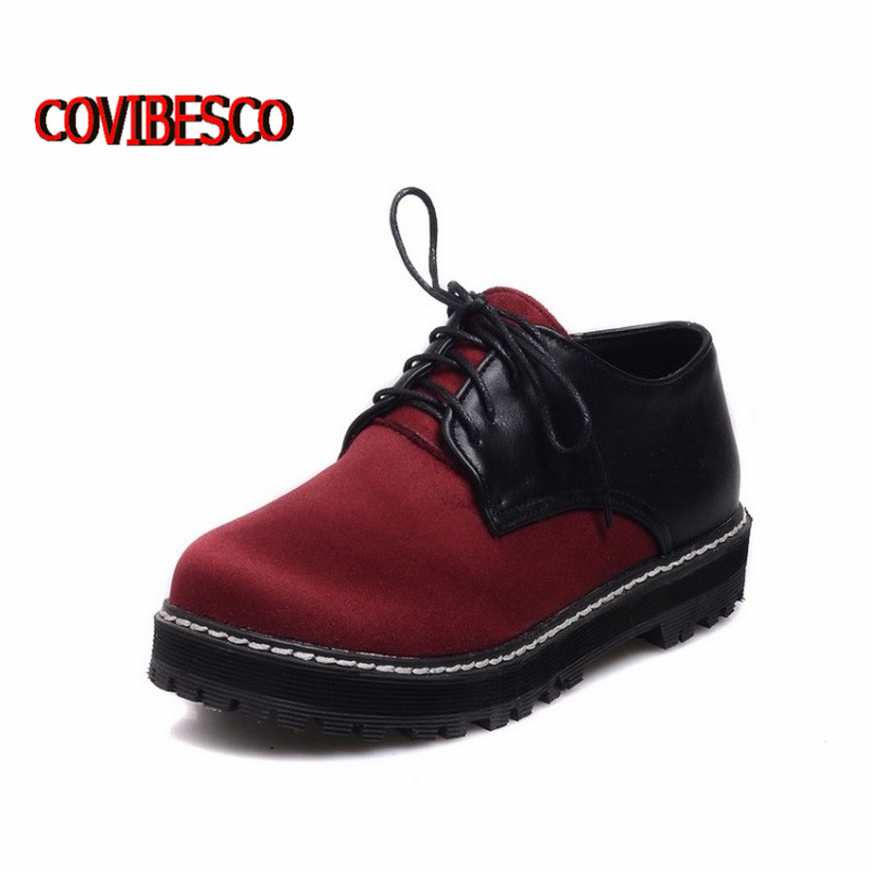 ФОТО Big size34-43,Retro2015 new vintage women flats, Korean version of casual comfortable lace flat shoes martin boots freeshipping