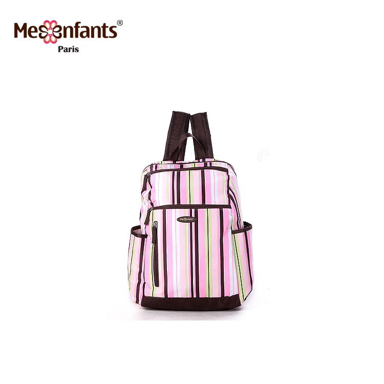 Mesenfants 2PCS/set Mummy  4 Colors Stripe Maternity Nappy Bag Multifunction Large Capacity Travel Backpack Baby Care mummy page 4