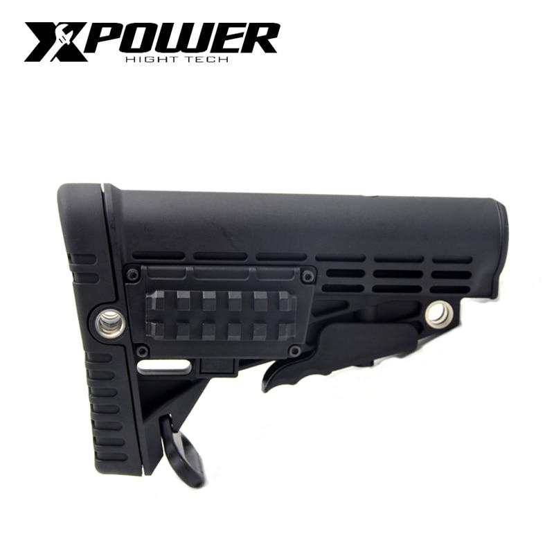XPOWER CAA Stock For Air Guns Airsoft Gel Blaster AEG Gen8 Jinming9 Hunting Accessories