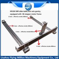 China Manufacturer automatic spot welding machine CNC module sliding table Multiaxial electric slide guide rail manipulator