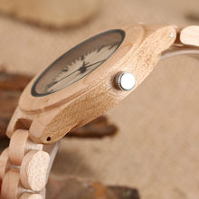 Quartz Movement Wood Watches For Women
