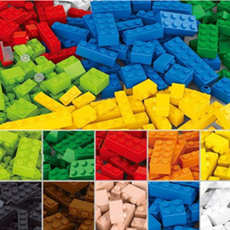 1000Pcs DIY City Creative Building Blocks Bricks Educational toys Compatible With Legoingly Bricks For Children Gifts 337pcs 10745 super heroes ayesha s revenge building blocks diy educational bricks toys gift for children compatible with 76080