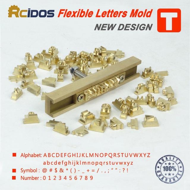 T typ flexible heißer folie stanzen buchstaben, CNC gravur form ...