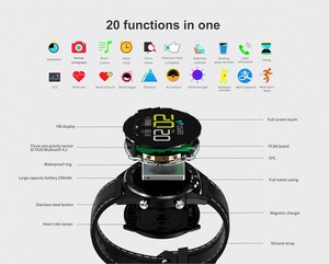 "Image 5 - Letine DT28 חכם שעון נייד תשלום אק""ג קצב לב צג גשש כושר מרובה ספורט מצבי מלא מסך מגע Smartwatch"