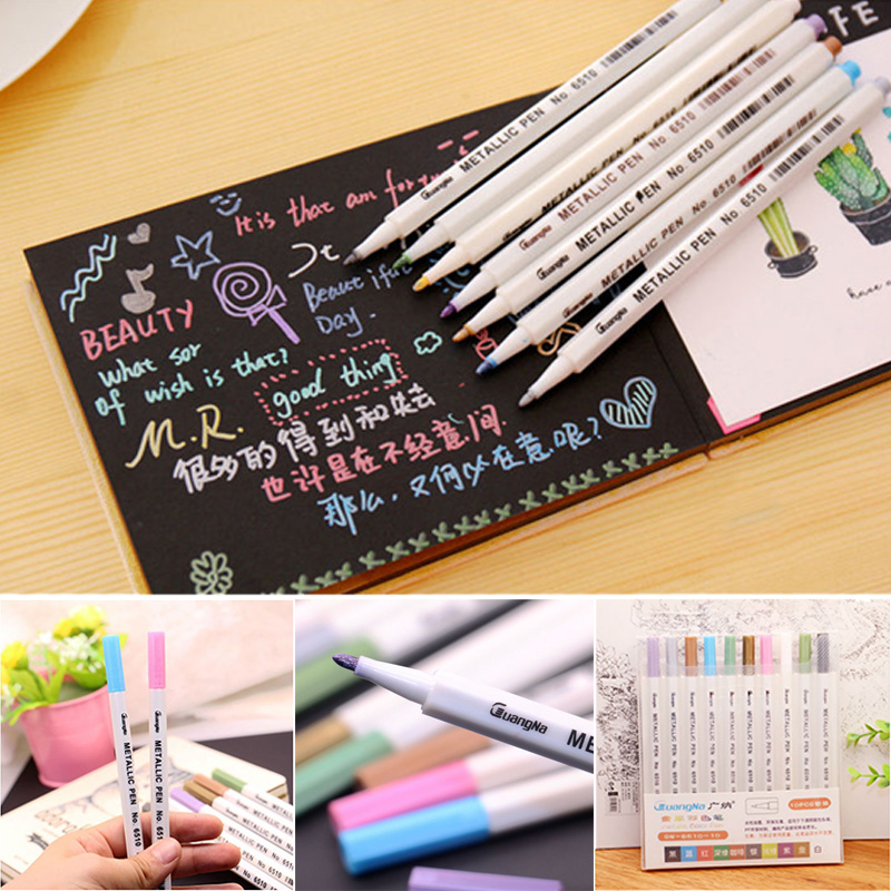 1 Box Graffiti Pen for Fujifilm Instax Mini 9 8 7s 25 90 Film Photo Autograph Marker Painting Pens Waterproof Camera Accessories