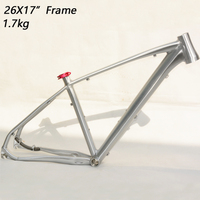 Aluminum Alloy 7005 mtb frame 26er 17inch mountain bike frame bicycle frame Cross country downhil