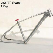 Aluminum Alloy 7005 mtb frame 26er 17inch mountain bike frame bicycle frame Cross-country downhil все цены