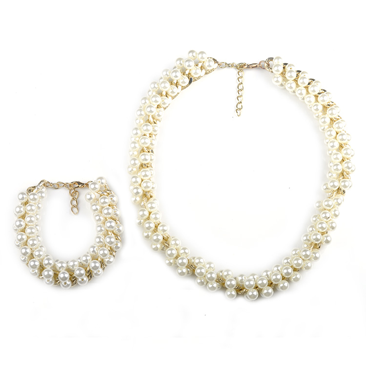 N00157 2015 Summer Style Elegant Simple Charming Jewelry Sets Gold ...