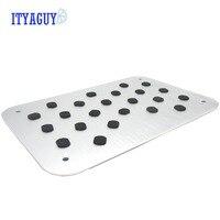 Car Styling Auto Aluminum Floor Carpet Mat Pad Plate Pedal Foot Truck For SUBAR U Tribeca