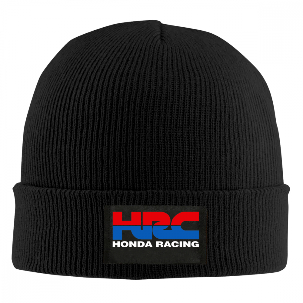 Beanie   Print HRC Honda Racing Car Fans1 men women Knit Cap Knitted Hat   Skullies   Warm Winter Unisex Ski Hip Hop Hat