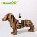 Europeia-estilo enfeites criativos acessórios para casa de madeira produtos de madeira simples prateleiras Cremalheira Do Vinho prateleira de mesa rack de frete grátis