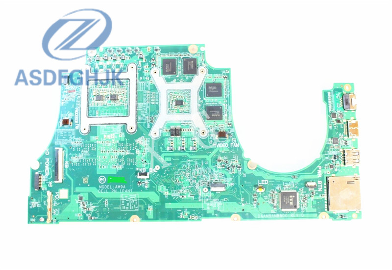 For Dell For Inspiron 7559 Laptop Motherboard CN-0NXYWD 0NXYWD NXYWD Motherboard <font><b>i5</b></font> <font><b>6300HQ</b></font> 2.3 GHz NVIDIA 4GB 100% Tested ok image