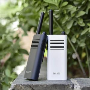 Image 5 - Original Xiaomi Beebest Xiaoyu Handheld Walkie Talkies Repeater 1 5KM Two Way Radio White 2000mAh Blue 3350mAh Walkie Talkie