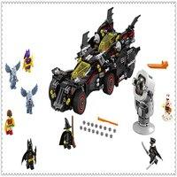 1496Pcs Batman Series Ultimate Batmobile Model Building Block Toys LEPIN 07077 Educational Gift For Children Compatible Legoe