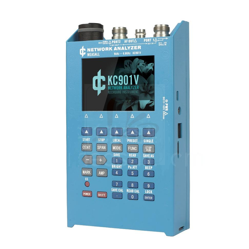 KC901V vector network analyzer day feeder analysis frequency spectrum field strength radio frequency SWR standing wave test time frequency analysis