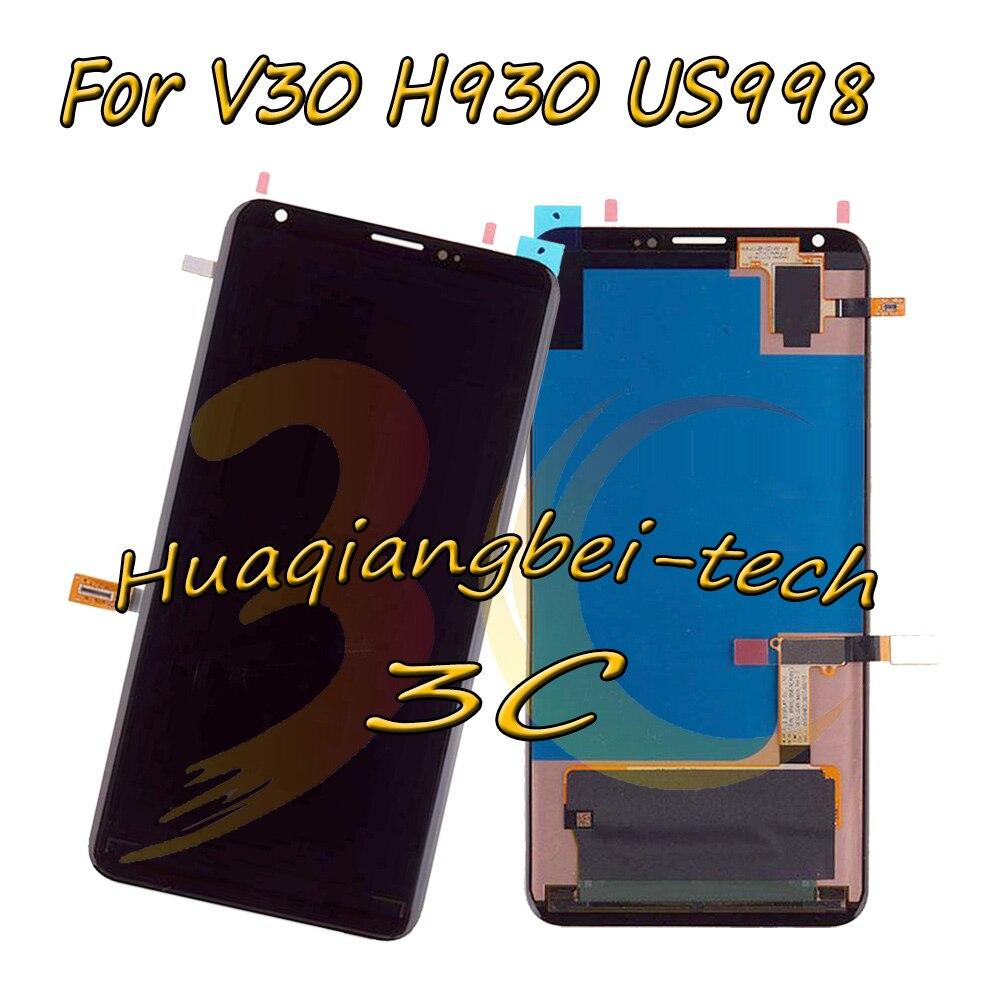 Nero 6.0 Nuovo Per LG V30 LG-H930 H930 US998 Pieno DIsplay LCD + Touch Screen Digitizer Assembly 100% Testato Con inseguimentoNero 6.0 Nuovo Per LG V30 LG-H930 H930 US998 Pieno DIsplay LCD + Touch Screen Digitizer Assembly 100% Testato Con inseguimento