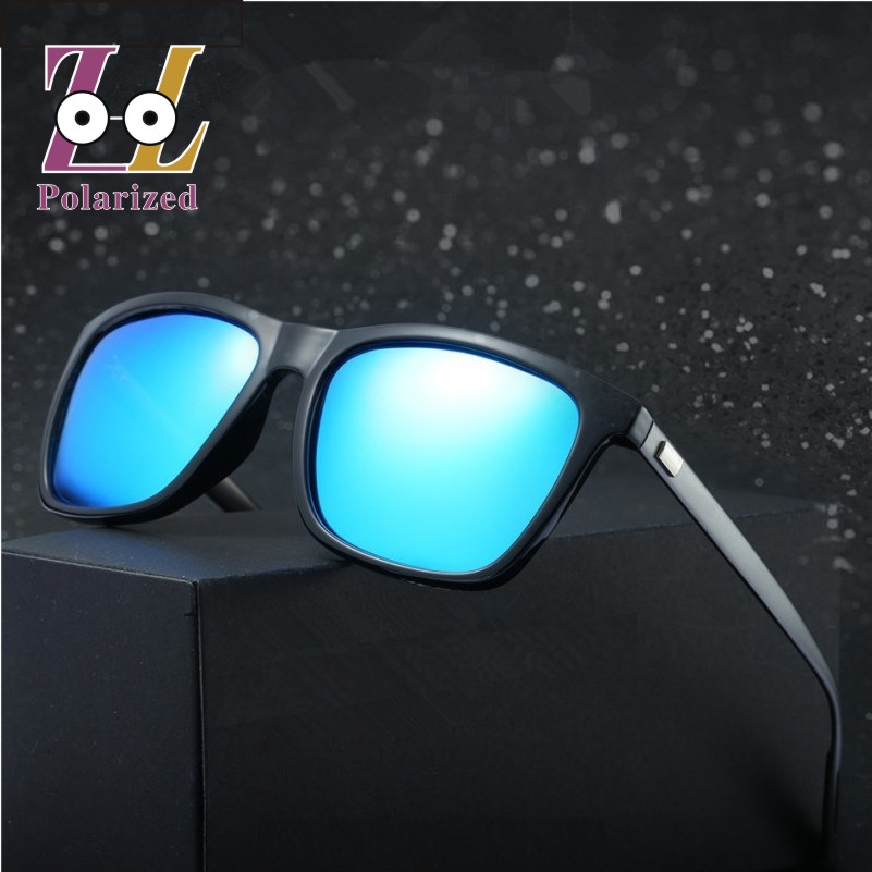 3425d37164f84 Brand designer Fashion original 100% Polarized Sunglasses men Retro vintage  reflective sun glasses male Oculos de sol 2017