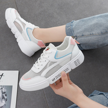 Sneakers women 2019 summer new breathable white shoes Korean version of the wild mesh ins street beat casual