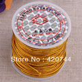 topstore 5Roll Gold Elastic Beading Thread Cord String 2.0mm