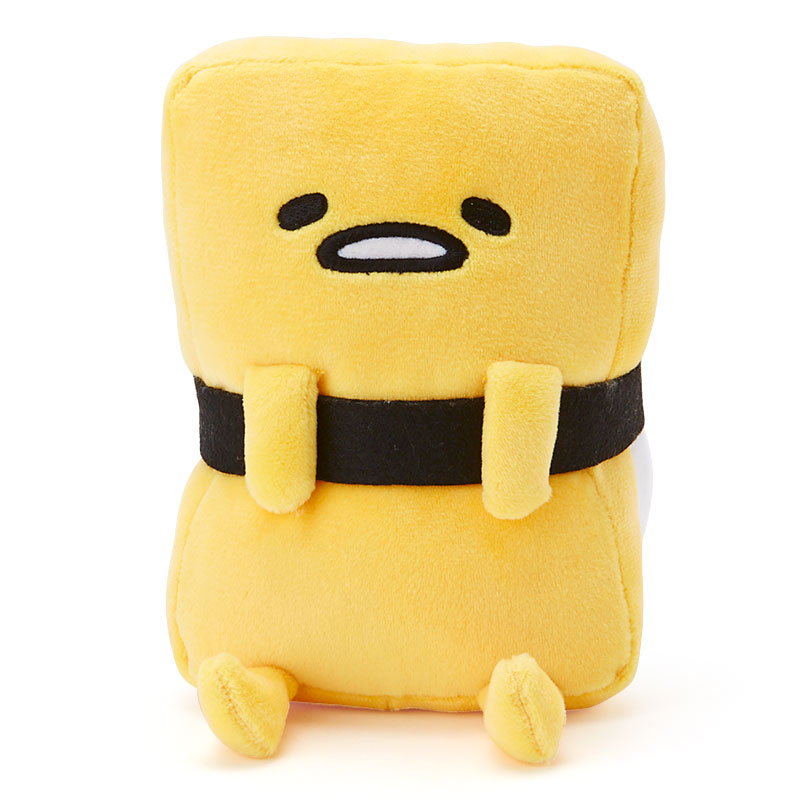 Candice guo! cute cartoon plush toy sushi gudetama lazy egg kawaii stuffed small doll creative birthday Christmas gift 1pc stuffed animal 44 cm plush standing cow toy simulation dairy cattle doll great gift w501
