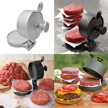 Кухонная форма для гамбургера из алюминиевого сплава, пресс-инструмент для мяса, приспособления для бургеров из мяса, пресс-форма для гамбургера, фрикадельки, инструменты