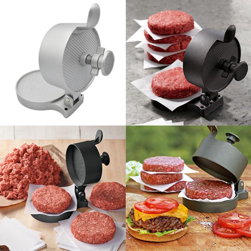 Kitchen Aluminum Alloy Hamburger Mold Meat Press Tool Patty Makers Meat Burger Maker Mold Hamburger Press Meatballs Tools