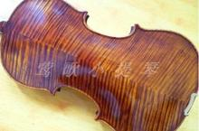 DHL shipping full size 4/4 handmade high-grade tiger stripes wood violin for performance,send case+rosin+bow overflow