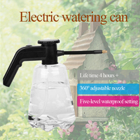 2L Adjustable USB Charge Multi Purpose Tools Watering Can Portable High Pressure Rotatable Nozzle Garden Bottle Electric Sprayer