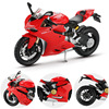 Maisto 1:12 assembly model toy alloy motorcycle models building kits motor bicycle ducati 1199 panigale racing cars toys for children