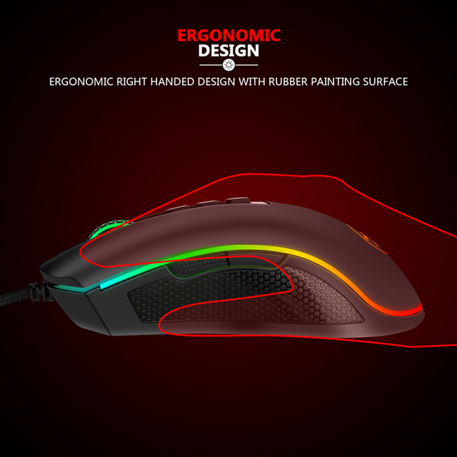 Redragon M711-FPS COBRA Gaming Mouse 5