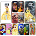Beauty and the beast beautiful Beast Fall In Love Hard Transparent for Galaxy S3 S4 S5 & Mini S6 S7 edge S6 Edge Plus