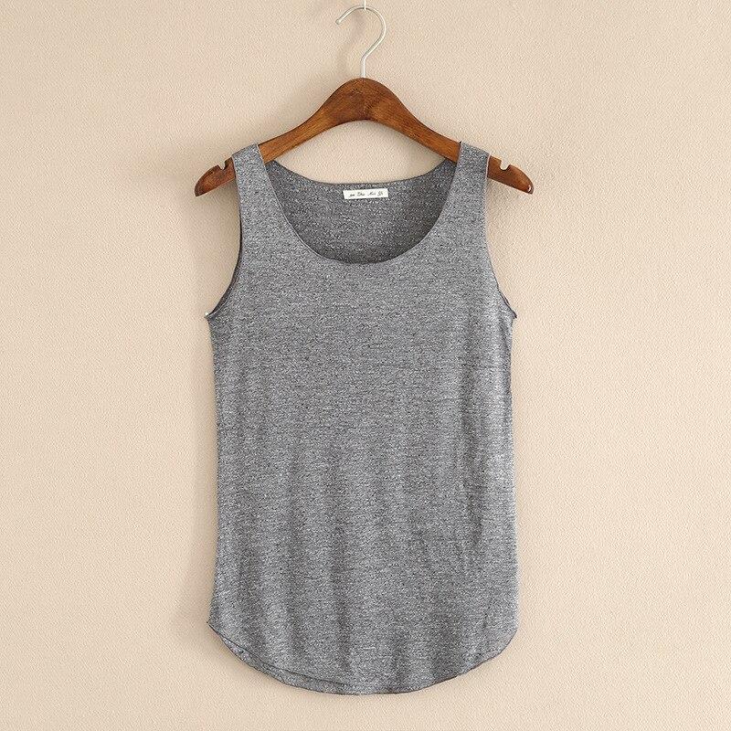 FNJJLU Womens Tank Tops Summer Casual Vest Sleeveless Print Shirt Loose Round Neck Tops
