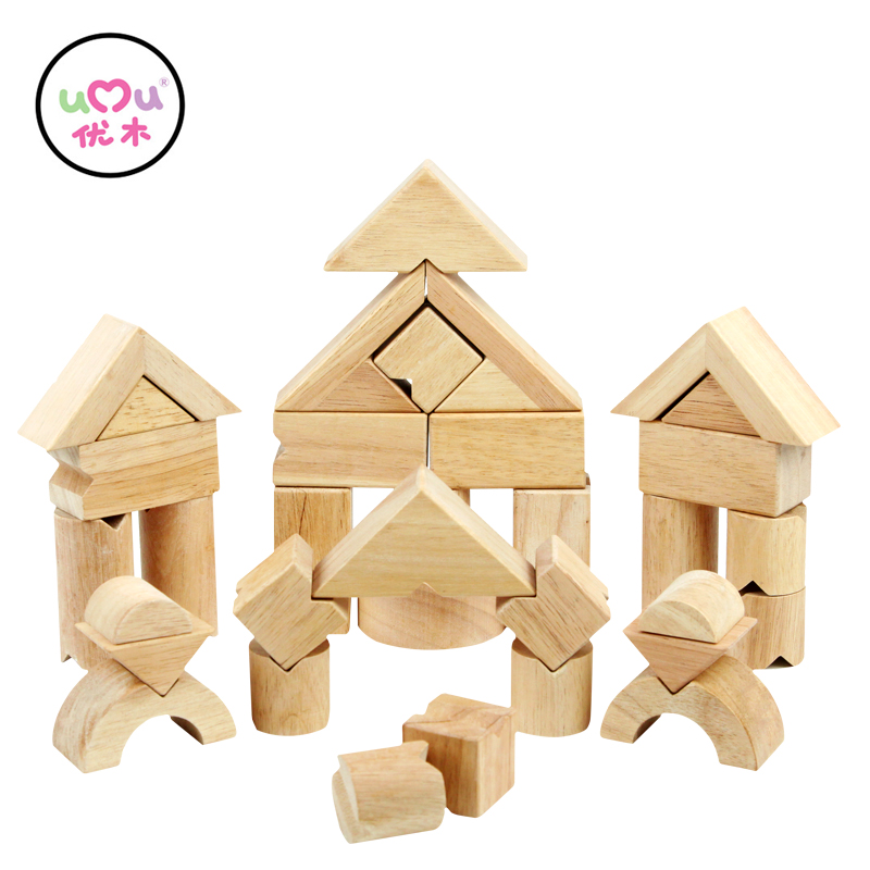 V Shape Wooden Balance Building Blocks Educational Toys For Children Natural Wood  Building Kits UQ1386H baby educational wooden toys for children building blocks wood 3 4 5 6 years kids montessori twenty six english letters animal