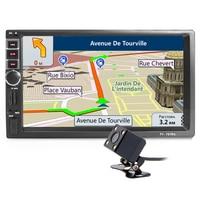 2din radio Car Multimedia Player GPS Navigation Bluetooth AUX mp3 MP4 MP5 Stereo Audio Auto Electronic autoradio 2 din NO DVD