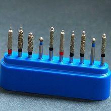 New Dental Diamond Burs Set Porcelain Shouldered Abutment Polishing Kit  10pcs(China) c48d248ee93d