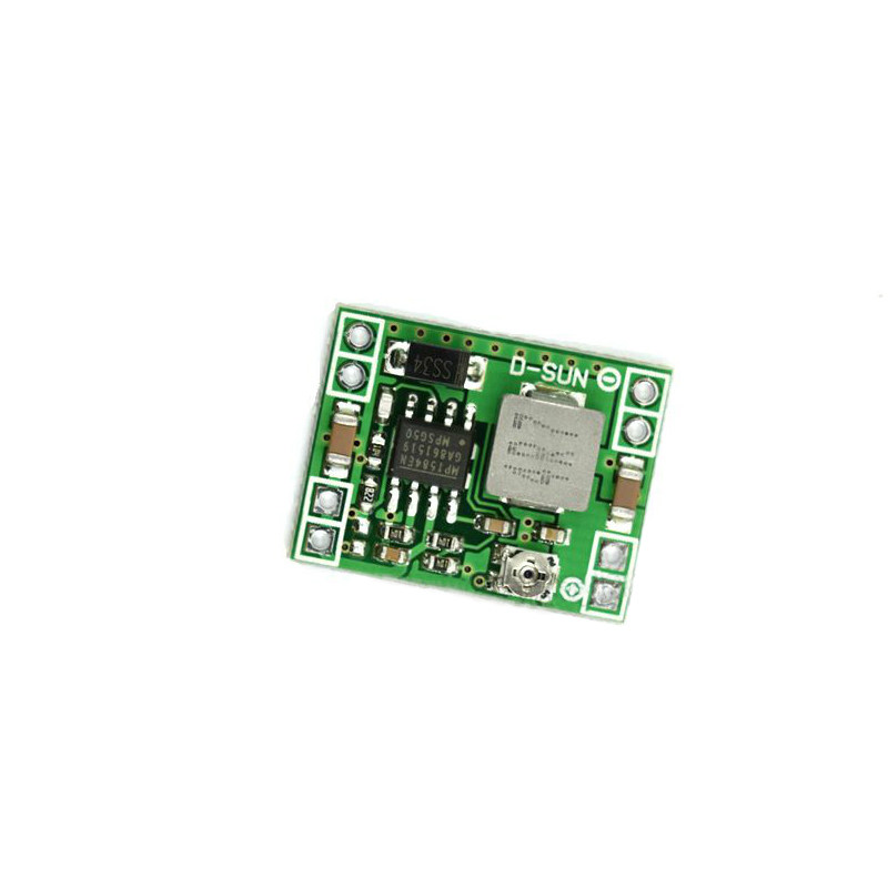 Free Shipping 100PCS MP1584 Ultra small size DC DC step down power supply module 3A adjustable step down module super LM2596-in Integrated Circuits from Electronic Components & Supplies