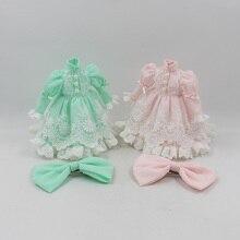 Blyth платье принцессы для куклы с Меламед два цвета на выбор для сустава тела сладкий туалетный BJD