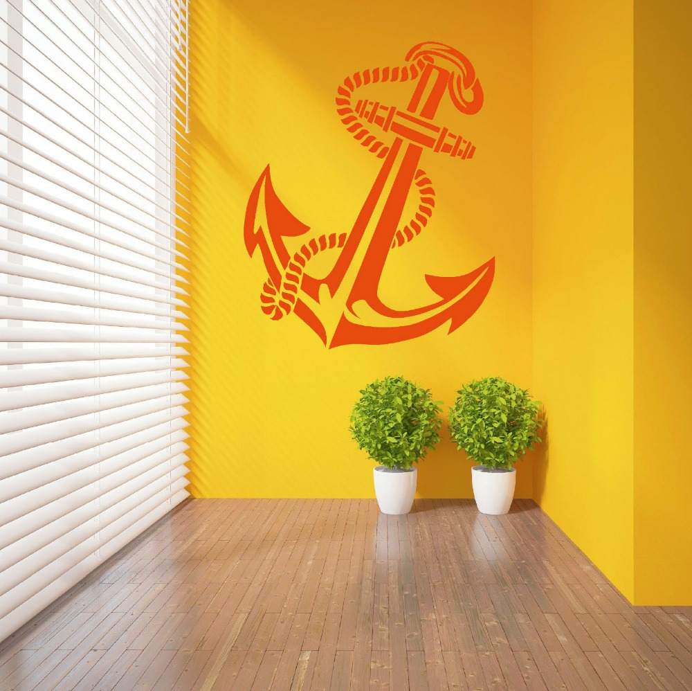 ANCHOR RETRO VINTAGE TATTOO SHIPS vinyl wall art sticker decal ...