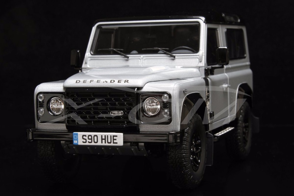 Diecast Car Model Almost Real 1 18 Defender 90 2 000 000 pcs Edition 2015 SMALL