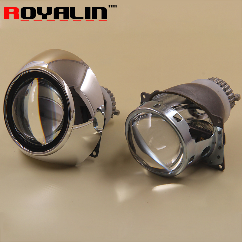 Upgrade Car Stying Full Metal Q5 Bi Xenon Mini 3.0 D2S Projector Lens for H4 HID Car Light + Shoruds Auto Retrofit  D2S/H Bulbs bi xenon car led projector lens assembly for mercedes benz m w163 w164 with halogen headlight only retrofit upgrade 1998 2008