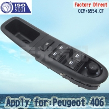 Factory Direct 6554.CF Master Electric Auto Power Main Window Switch Apply for Peugeot 406 (96-04)