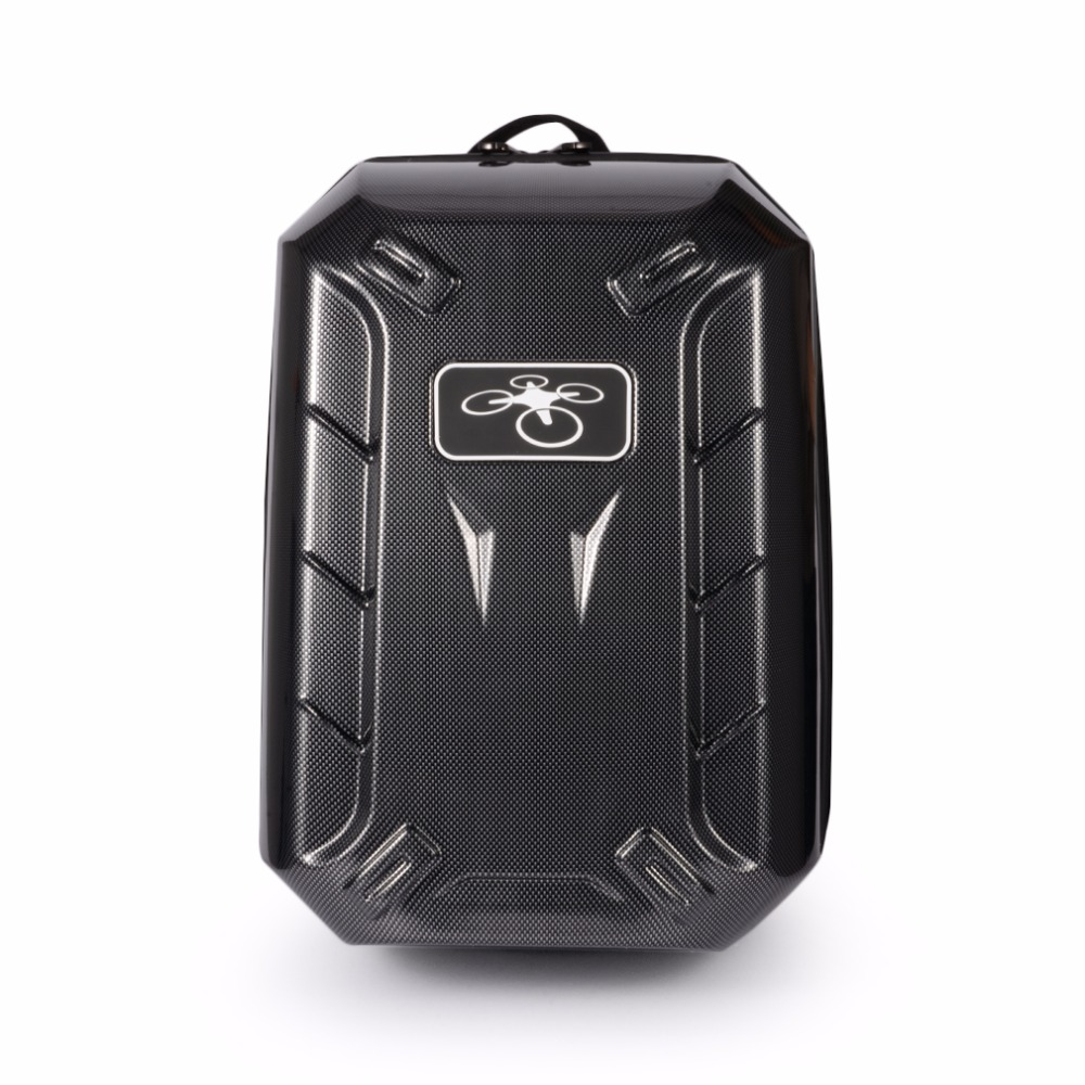 Hard Case Backpack For DJI Phantom 3/4 Carbon Fiber Storage Box Compatible For Phantom 4 PRO + Fashionable Backpack Black dji phantom 4 series drone pc hard shell backpack carbon fiber carrying box for rc quadcopter storage tool accessories knapsack
