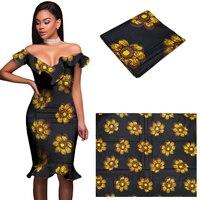2017 odzież materiał tkaniny afryki tkaniny woskiem afryki ankara ankara ankara afryki tkaniny prawdziwy wosk wydruku czystej bawełny 6 metrów