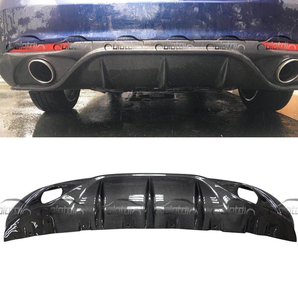 OLOTDI For Alfa Romeo Giulia 2017 Carbon Fiber Car Body