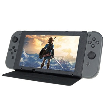 цена на Game Accessories PU Leather Protective Case Stand Cover Flip Stand for Nintend Switch NS Console Screen Protect Case Cover