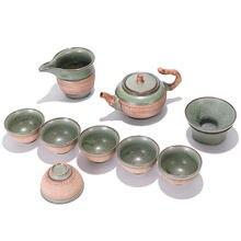 Креативный чайный набор kungfu xishi pot фарфоровая чаша gaiwan