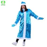 Russian Snegurochka Women Christmas Cosplay Costumes Xmas New Year Dress for Girls Christmas Santa Claus Costume