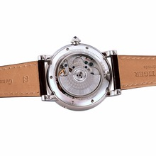 Reef Tiger/RT Tourbillon Designer Watches Top Quality Watch with Date Day and Calfskin Leather Watches for Men RGA191