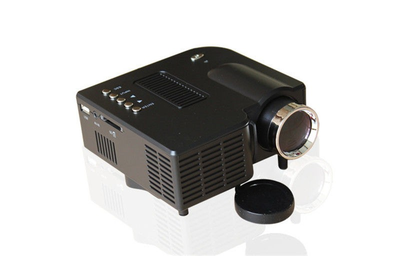 UC28+ Portable mini LED Projector projecteur Home Theater HDMI VGA AV USB SD lamp Remote Control proyector (2)