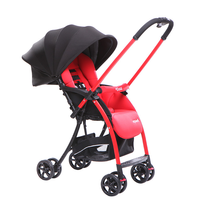 Hot Sale High Quality Baby Stroller Portable Folding Umbrella Car Baby Cart Two-way Rolley Baby Stroller 4 Color Free Shipping